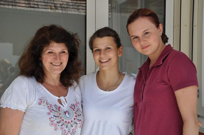 Von links: Katrin Lang, Marina Grüninger, Evgenia Breidenbach